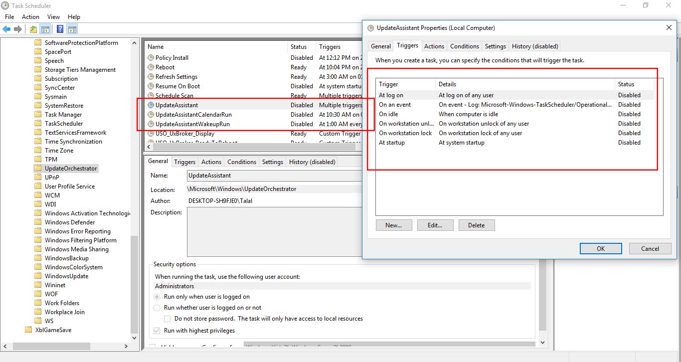 permanently deactivate windows 10 update